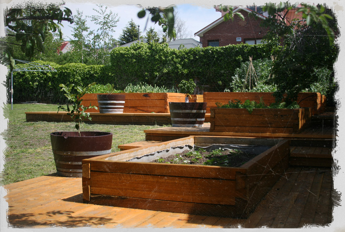 Dovetail Timbers Raised Timber Garden Bed