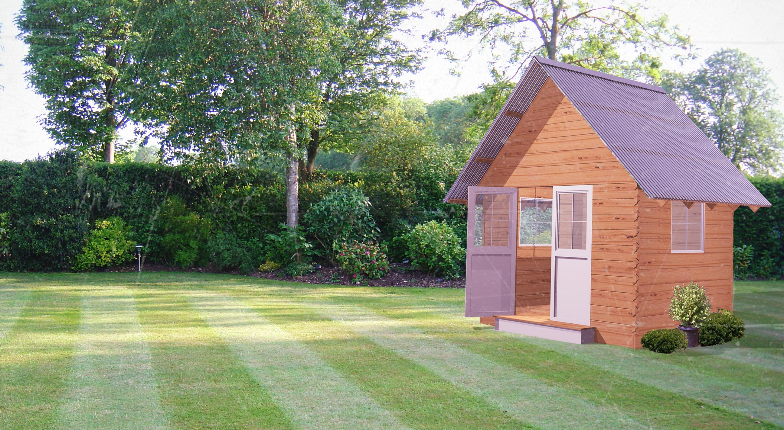 Dovetail Timbers Garden Shack Timber Cabin Timber Shack